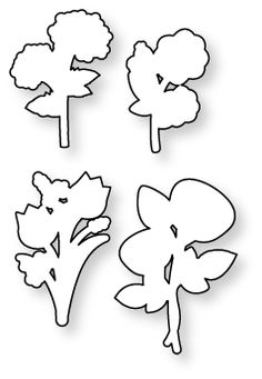Papertrey Ink - Bitty Bouquets Die: Papertreyink