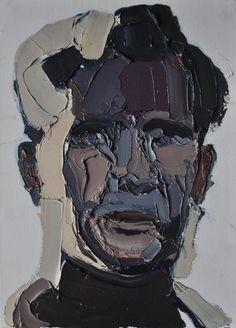 """Saatchi Online Artist: Clara Adolphs; Oil, Painting """"Good Bye, Dean"""""""