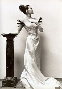 One of my all time favorite movie dresses, Leslie Caron in character as Gigi and shot by Cecil Beaton