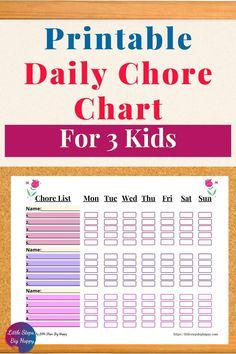 Chore Chart Teenagers, Teen Chore Chart, Daily Chore Charts, Chore List For Kids, Printable Chore Chart, Age Appropriate Chores For Kids, Chore Board, Weekly Chores, Sticker Chart
