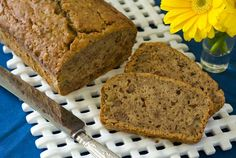 Pears add elegant sweetness and delightful moistness to this gluten-free dairy-free pear bread. It'll soon top your favorite gluten free quick breads list! Gluten Free Quick Bread, Gluten Free Baking, Gluten Free Desserts, Dairy Free Recipes, Vegan Baking, Pear Bread, Banana Bread, Just In Case, Just For You