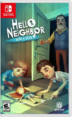 Hello Neighbor Hide and Seek Nintendo Switch - Nintendo Switch Console - Ideas of Nintendo Switch Console - Hello Neighbor Hide and Seek Nintendo Switch Nintendo Lite, Nintendo Switch System, Nintendo Eshop, Nintendo Switch Games, Hello Neighbor Game, Girls Room Accessories, Lego Humor, Ever After High Games, Zombie Style