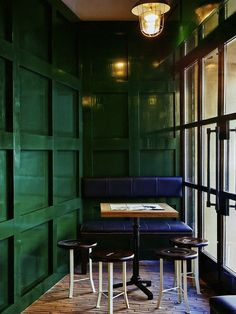 AphroChic: Update Your Walls In Emerald Green