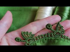 Tasarım yaptım 🤔 - YouTube Saree Tassels, Crochet Borders, Baby Knitting Patterns, Elsa, Diy And Crafts, Butterfly, Embroidery, Jewelry, Youtube