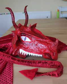 Filth Wizardry: Milk Jug Dragon Mask-  Litha - Summer Solstice - Pagan - Pinned by The Mystic's Emporium on Etsy