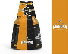 Manush Beer (Concept) on Packaging of the World - Creative Package Design Gallery