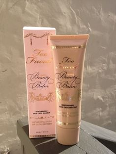Too Faced Tinted Beauty Balm #crueltyfree #toofaced #BB #BBcream