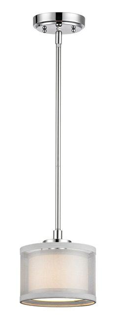 Jarrett 1-Light Drum Mini Pendant