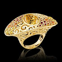 master exclusive - kaleidoscope collection - ring