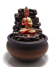 Eleganter-Tisch-Zimmerbrunnen-Buddha-mit-LED-Wechsel-Licht-303343103