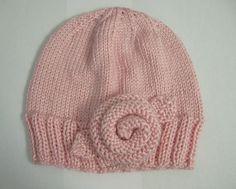Aran Ravelry: jmartinelli13's Pink Rose Hat