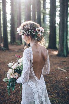 Raewyn in the INCA gown | Grace Loves Lace