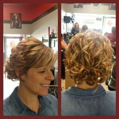 Updo.  By Shannon Young.  Studio Red Salon.  Martins Ferry,  Ohio.