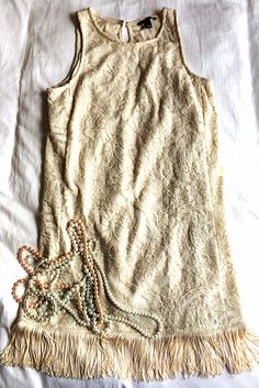 Perfect Easy 20s Flapper Dress Tutorial by Bunny Baubles Blog