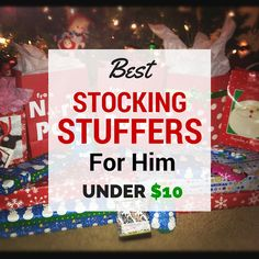 Best Stocking Stuffers for Him Under $10