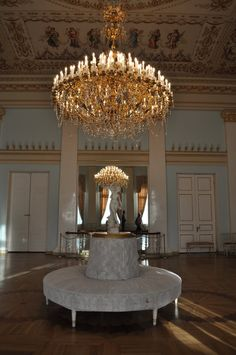 Paper mache chandelier in the yusupov palace st petersburg russia chandelier in the yusupov palacesttersburgrussia mozeypictures Choice Image
