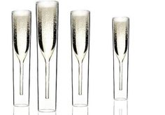 InsideOut champagne glasses.