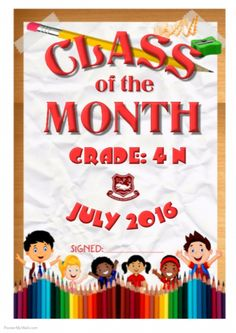Class of the Month by Ammie Pillay