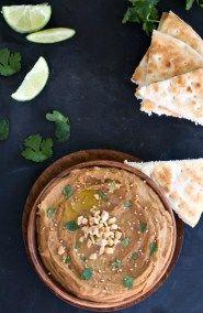 Thai Peanut Butter Hummus Recipe