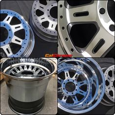 Steel Monster Truck Wheels and are a Monster Jam, Monster Trucks, Truck Wheels, Chrome Wheels, Ford, Steel, Vehicles, Car, Steel Grades