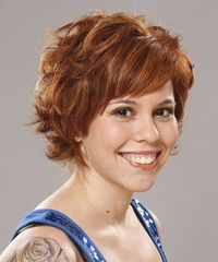 Formal Short Wavy Hairstyle - click to view hairstyle information