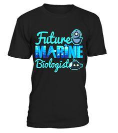 Future Marine Biologist Kid's T-Shirt - Limited Edition