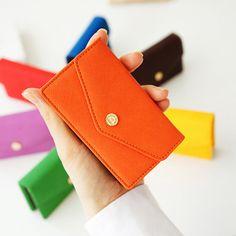 www.inviteL.us - Seven Dials Card Pouch: Orange