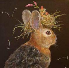 Illustrations, Illustration Art, Lapin Art, Deco Champetre, Year Of The Rabbit, Rabbit Art, Bunny Art, All Nature, Art Graphique