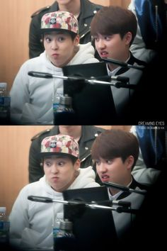 "D.O ""I am so disgusted "". Xiumin ""oh holy sh**"""