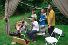I love the sound of acoustic music in our little hollar. We do have power nearby if you want to plug in. Acoustic Music, Hot Springs, Event Venues, Good Times, Mountain, My Love, Celebrities, Weddings, Spa Water