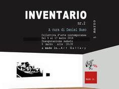 """Inaugurazione di """"Inventario"""" a Made in…Art Gallery Venezia"""
