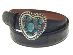 The Sweetheart Turquoise Sterling Silver Belt Buckle is a stunning statement piece! Perfect with the simple black dress or jeans . Western Belt Buckles, Western Belts, Leather Gifts For Her, Unusual Gifts For Her, Simple Black Dress, Clip, Jewelry Gifts, Turquoise Bracelet, Cuff Bracelets