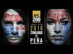 nice UFC 200: Cat Zingano vs Julianna Peña