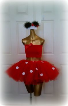 Adult tutu, halloween tutu costume, adult minnie mouse, adult tutu dress, Minnie mouse , sexy womens costume on Etsy, $85.00