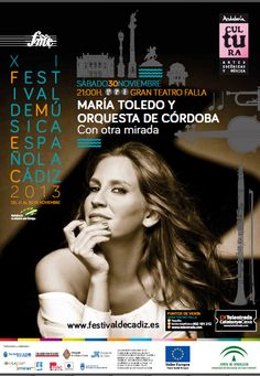 María Toledo en el Gran Teatro Falla de Cadiz, 30 nov 2013
