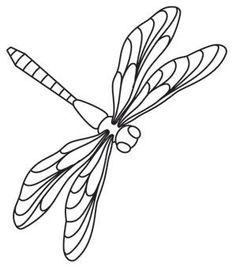 dragonflies | Urban Threads: Unique and Awesome Embroidery Designs