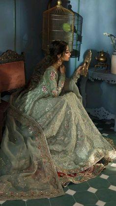 Pakistani Bridal Dresses Online, Indian Bridal Outfits, Pakistani Bridal Wear, Pakistani Wedding Dresses, Indian Fashion Dresses, Indian Designer Outfits, Indian Prom Dresses, Bridal Lehenga, Nikkah Dress