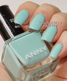 Anny swatches: Mint Dolphin