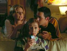 Buffy Season 2,   Episode 5: Reptile Boy     Cordelia: Oh, Buffy, it's like we're sisters! With really different hair.