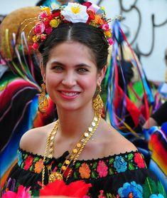 Bella joven de Chiapas