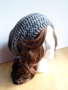 Explore our Slouchy Crochet Beanies in our shop. #fall #fashion #bohemianstyle Crochet Hat- Boho hat- Stylish spring hat- Spring or winter Slouchy beanie- Winter Beanie, boho, bohemian style
