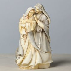 "Holy Family Figurine by Karen Hahn / Foundations - from giftsinc2;  9.45"" tall"
