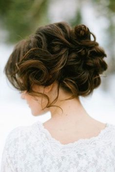 Ideas wedding hairstyles updo chignon up dos Wedding Hairstyles For Long Hair, Wedding Hair And Makeup, Pretty Hairstyles, Hair Makeup, Bridesmaid Hairstyles, Bridal Hairstyles, Hairstyle Wedding, Romantic Hairstyles, Easy Hairstyles