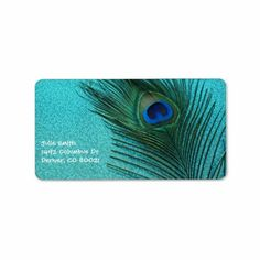 =>>Save on          	Metallic Aqua Blue Peacock Feather Address Label           	Metallic Aqua Blue Peacock Feather Address Label today price drop and special promotion. Get The best buyHow to          	Metallic Aqua Blue Peacock Feather Address Label please follow the link to see fully review...Cleck Hot Deals >>> http://www.zazzle.com/metallic_aqua_blue_peacock_feather_address_label-106530443623016814?rf=238627982471231924&zbar=1&tc=terrest