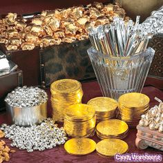 Would love to do this for my New Year candy table...Candy Buffet New Years 6..http://www.candywarehouse.com