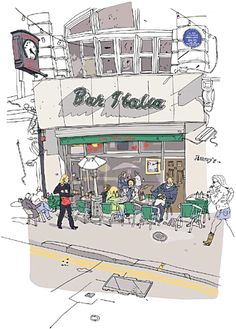 Olivier Kugler's Portfolio - Bar Italia