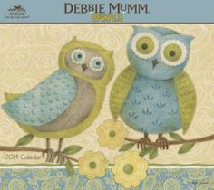 Debbie-Mumm-Owls for Chuz (56 pieces)