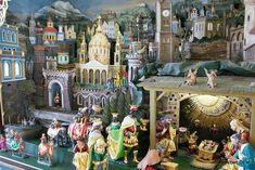 Image result for polskie szopki Catholic Prayers, Catholic Traditions, Fair Grounds, Around The Worlds, Traditional, History, Painting, Image, Art