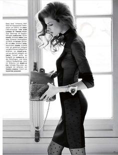 Kendra Spears   Giampaolo Sgura   Vogue Germany Octover 2012   Die Kunst Der Verführung