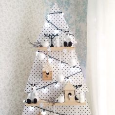 Деревянная елочка, новогодний декор, декор дома к новому году, красивые елки